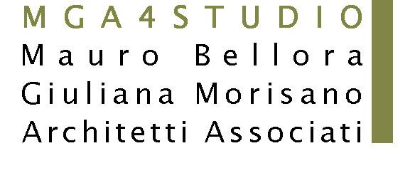 Logo - MGA 4 STUDIO - Architetti Mauro Bellora Giuliana Morisano Torino